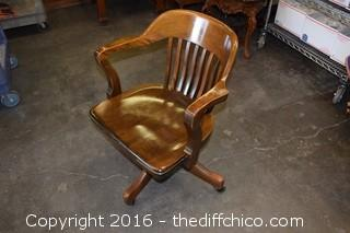 Vintage Rolling Office Chair