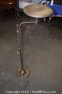Vintage Bridge Lamp-Needs electrical work