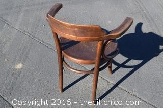 Vintage Thornet Brentwood Captain Chair