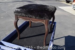 Ottoman - New Upholstery