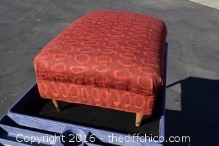 Ottoman - New Upholstery