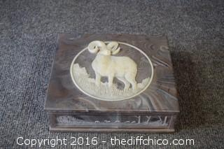 Soap Stone Trinket / Jewelry Box