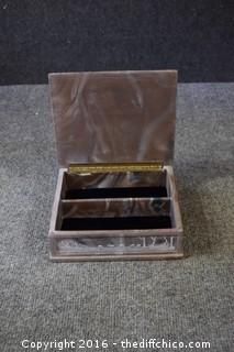 Soap Stone Trinket / Jewelry Box