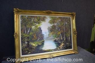 Framed & Signed Original Oil
