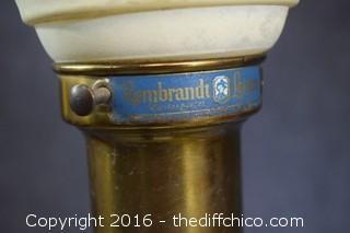 Pair of Vintage Working Rembrandt Lamps