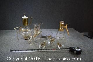 Vintage Cocktail / Coffee Set