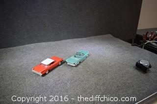 2 Collectible Toy Cars