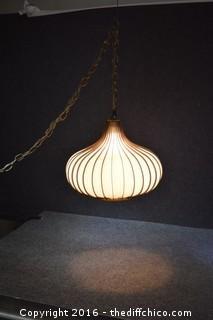 Working Vintage Light Fixture