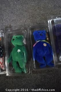 6 Collectible Beanie Babies