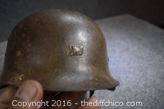 German Military Helment