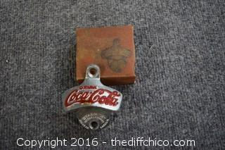 Vintage in the box Coca Cola Bottle Opener
