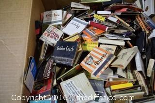 Collection of Book Matches