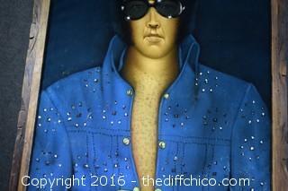 Velvet Elvis Painting