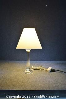 Working 20in Tall Lamp