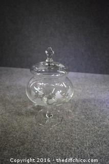 Etched Candy Dish