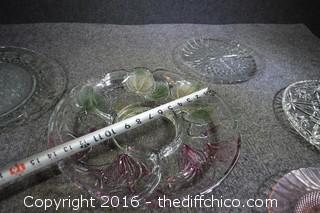 Glass Servers, Platters & More