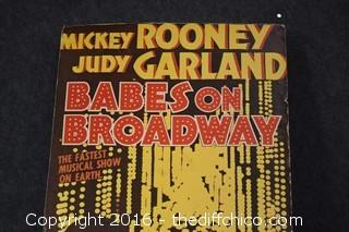 Babes on Broadway Movie Poster