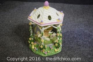 Spring Bunny Globe