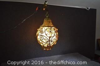Awesome Working Vintage Hanging Lamp