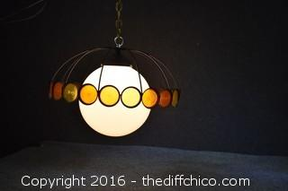 Vintage Working Hanging Lamp