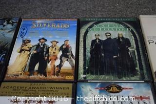 18 DVDs