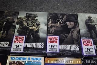 24 VHS Movies
