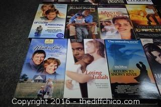 16 VHS Tapes