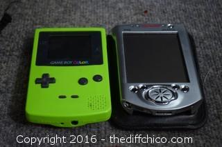 Mixed Lot of Game Players, MP3, ColorPix & More