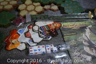 HeroScape Game - Not Sure All Pieces
