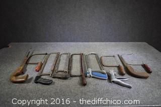 Lot of Handsaws