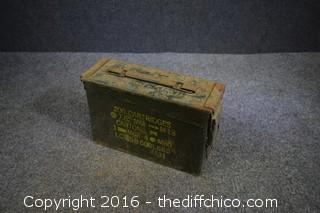 Ammo Box w/Carriage Bolts