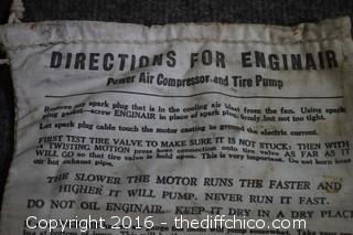 Enginair Tire Pump