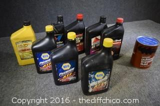 9 Quarts of Transmission Fluid