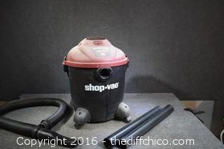 Working Wet/Dry 12-Gallon Shop Vac