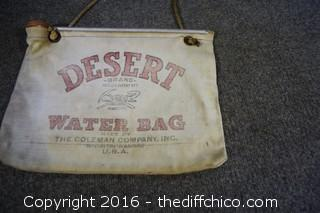 Vintage Desert Water Bag