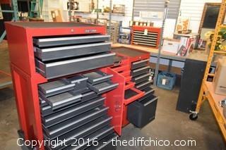 Craftsman 25 Drawer Tool Box-no keys