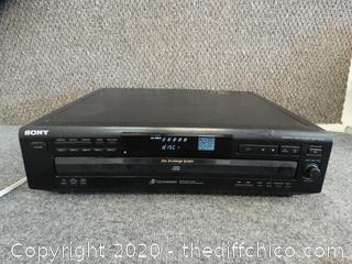 Working Sony 5 Disc CD Changer