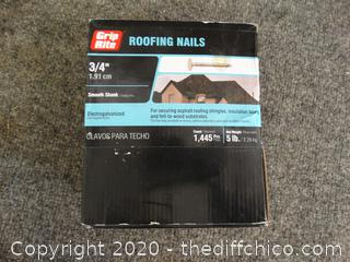 New Roofing Nails 3/4""