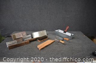 Lot of Cement Tools