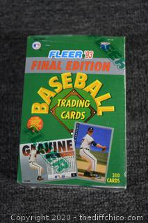 Fleet Sealed Baseball Collectible Cards