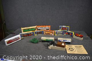 HO2 Train Collectibles