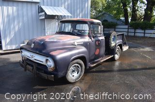 Vintage 1956 Ford Truck
