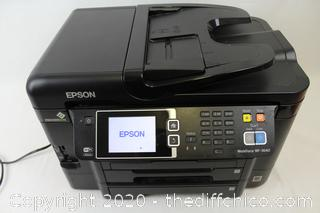 Epson WorkForce WF-3640 Wireless Color All-in-One Inkjet Printer with Scanner (READ DESCRIPTION)