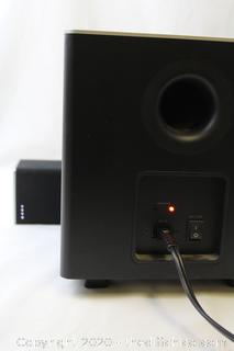 VIZIO SB3821-D6 38 Inch 2.1 Sound Bar Wireless Bluetooth Speaker System