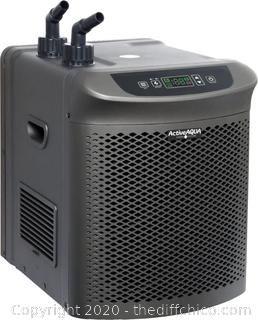 **READ DESCRIPTION** ($519)NEW Active Aqua AACH25HP Hydroponic Water Chiller Cooling System