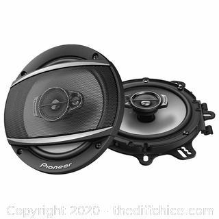 "Pioneer TS-A652F 6-1/2"" 3 Way Coaxial Speaker System 320 PEAK 70 WATT (PAIR)"