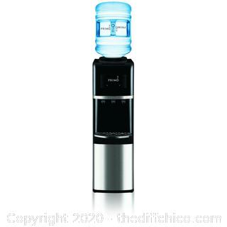 Stainless Steel Top Load Water Dispenser Primo Improved 2.0 Compressor Cooling (AMAZON $130)