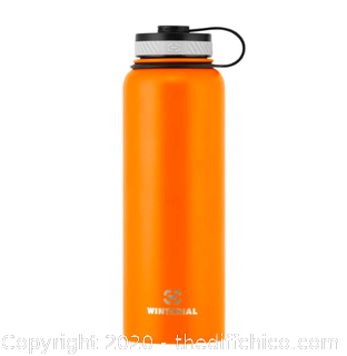 Winterial 40oz Stainless Steel Water Bottle - Orange (J9)