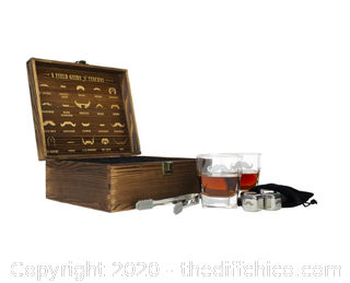 Atterstone Mustache Whiskey Box Set (J10)