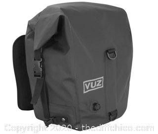 Vuz Moto 2 Piece Motorcycle Dry Saddlebags (J21)